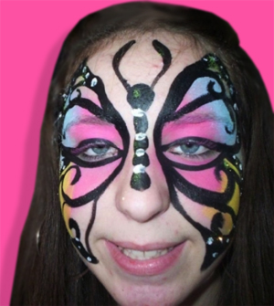 Rent-A-Body Face Painting Service. Philadelphia Face Painting Services.